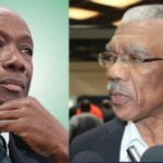 Pres. Granger and PM Rowley hold bilateral talks in Port-of-Spain