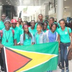 Team Jamaica and Fly Jamaica rescues Guyana school relay team as Sports Dept. falters