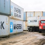 Container trucks prevented from leaving city wharf unless $25,000 fee is paid to Council