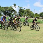 Jeffrey stars in 10-lap Mountain bike race