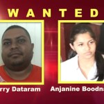 Police issue wanted bulletin for Barry Dataram and reputed wife