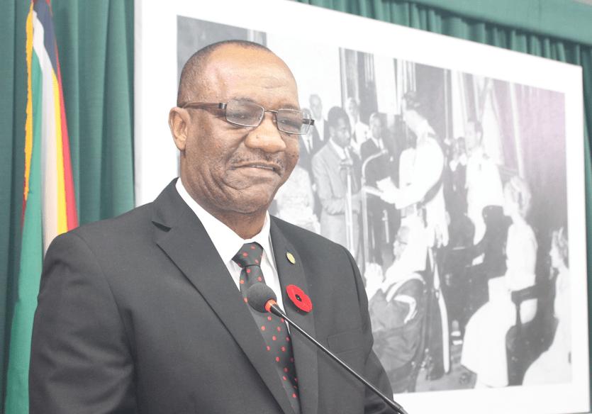 State Minister, Joe Harmon