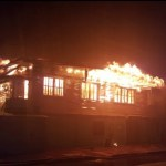 Three houses gutted by early morning Kitty fire