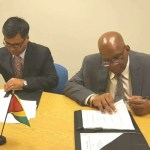 Guyana signs agreement with Indian bank for procurement of pumps to ease flooding woes
