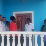 First occupants of new government houses receive keys