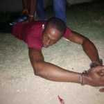 Escapee and convicted murderer Royden Williams captured in Berbice mini-bus.