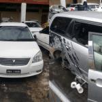 More stolen cars and car parts recovered during another raid at Kuru Kururu