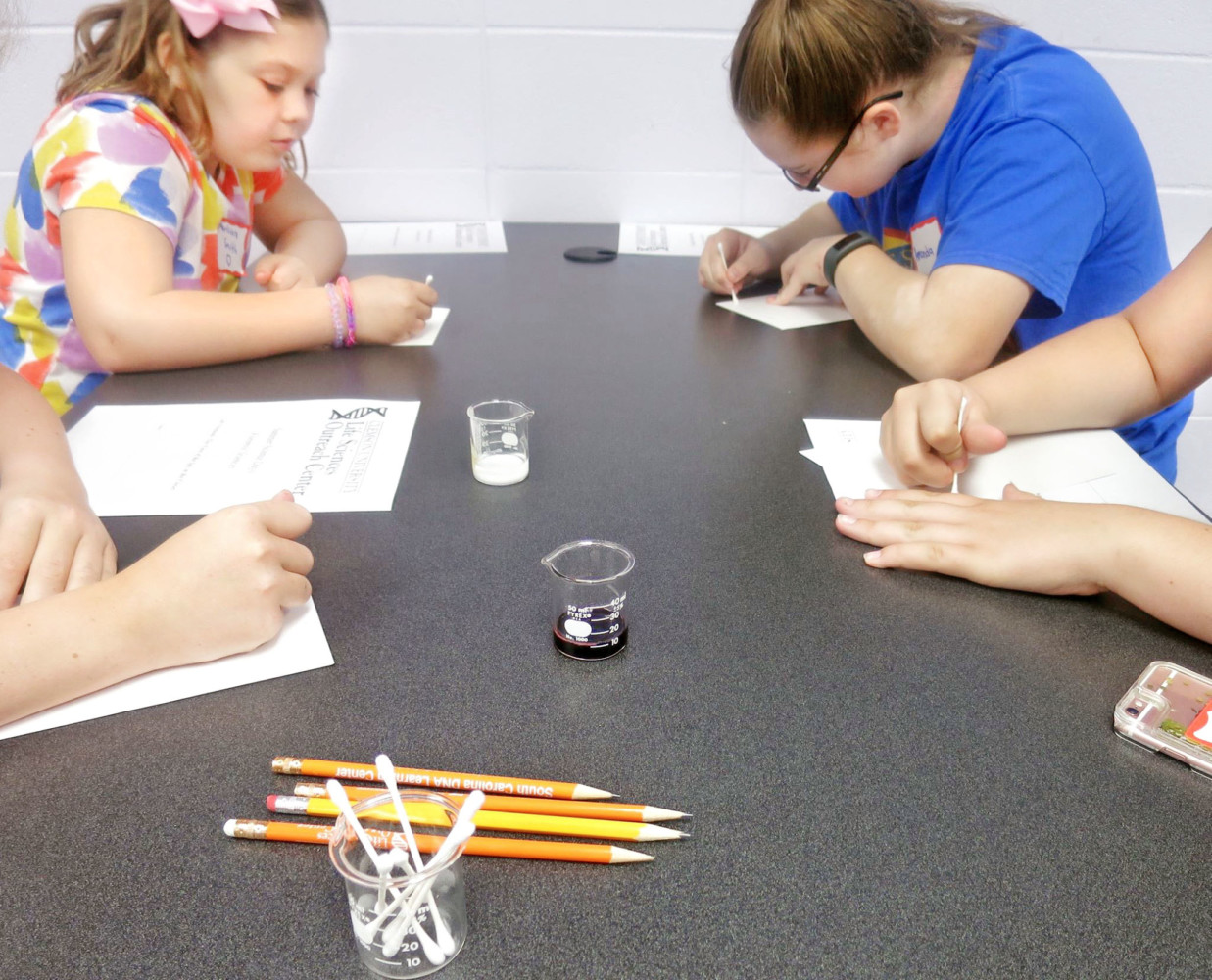 Clemson Life Sciences Summer Camp Turns Students Into