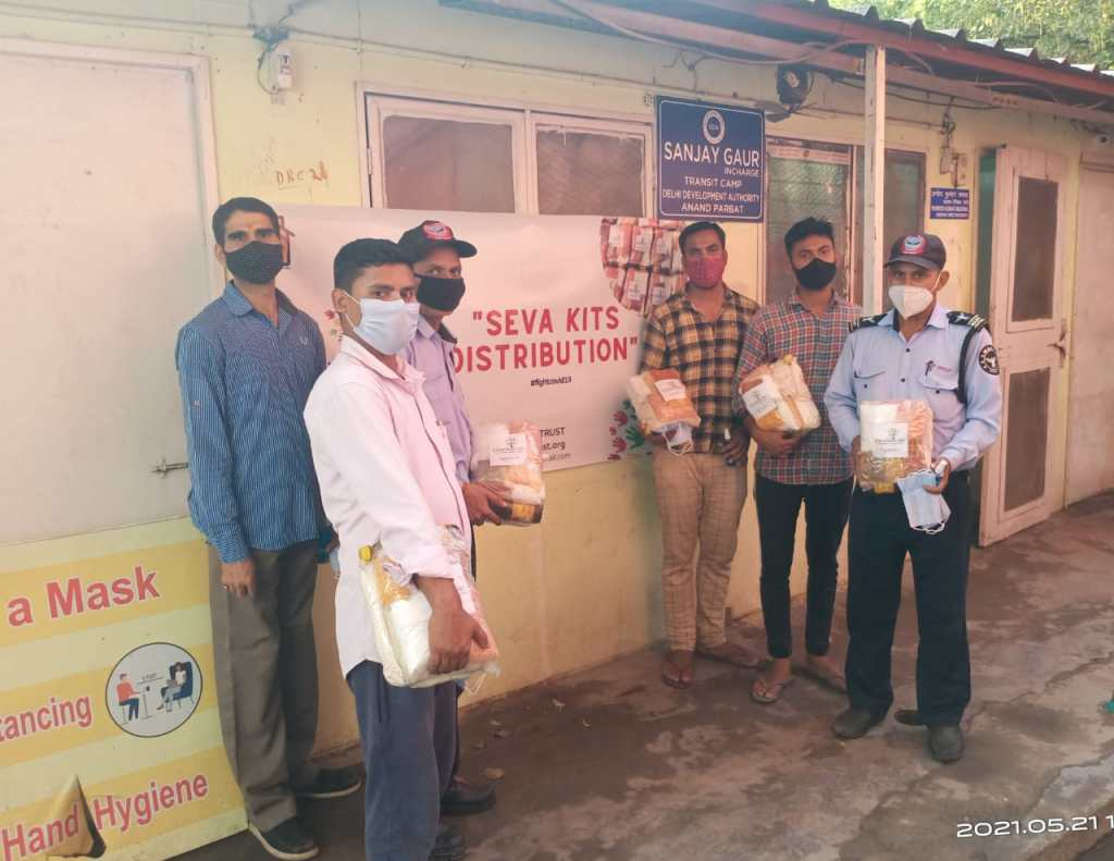 JL Kapoor Memorial Trust Ensures a Helping Hand to 23500 Residents of Transit Camp Anand Parbat Delhi