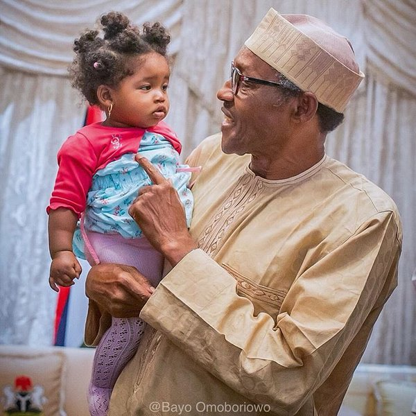 ChildresDay - Photo Collection: Pres. Buhari children's day celebration