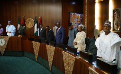 FEC Meeting - Buhari presides over FEC meeting