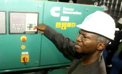 fashola Mainland Independent Power Project - Electricity improved as Nigerians now run generators for lesser hours - Fashola