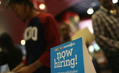 now hiring - US businesses add a healthy 241,000 jobs in March: survey