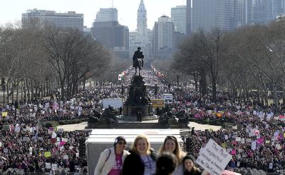 women march1 - Global female empowerment marches enter second day