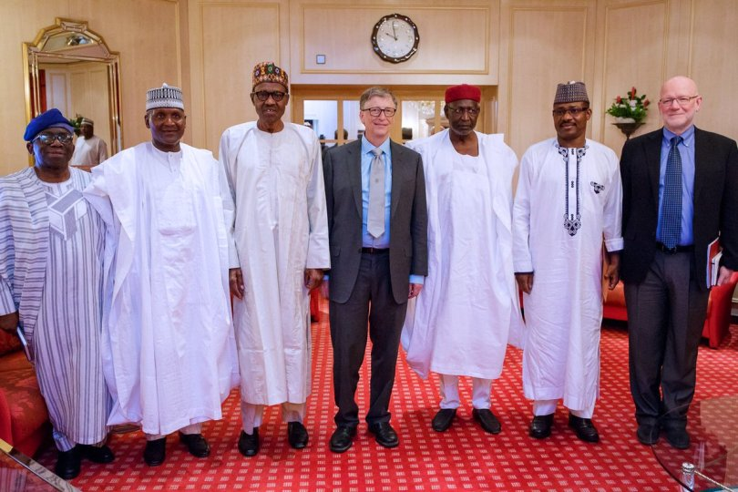 Gates in Nigeria - Bill Gates condemn ERGP, says it doesn't reflect people's needs
