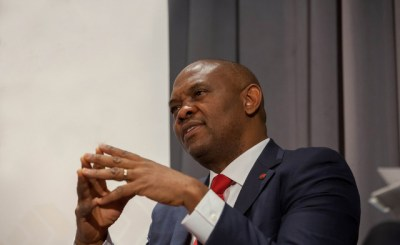 elumelu pose 001 - TEF, GIZ partner to empower young entrepreneurs across East and West Africa