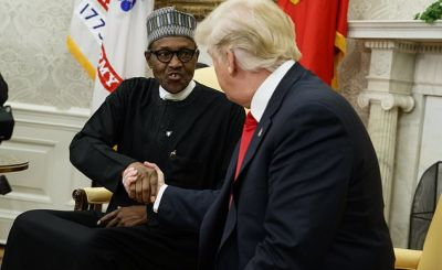 the latest trump hosts nigerias leader at the white 1 - Trump, Buhari and integrity