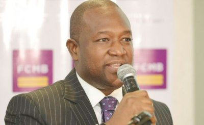Group Head Corporate Affairs Of Fcmb Mr. Diran Olojo