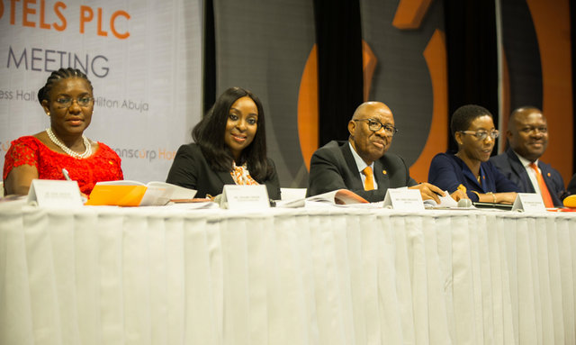 5th Annual General Meeting Of The Company Held At Transcorp Hilton Hotels Abuja On Friday11