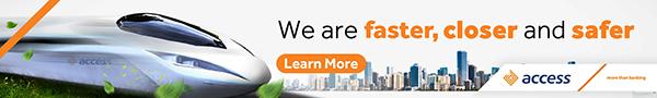 Access Bank banner advert