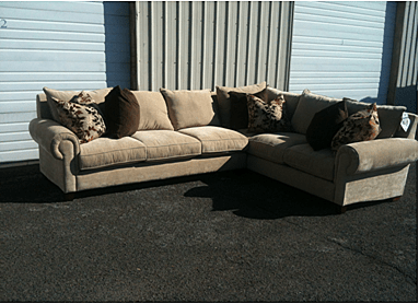 Down Filled Sofas And Sectionals Thesofa : goose down sectional sofa - Sectionals, Sofas & Couches