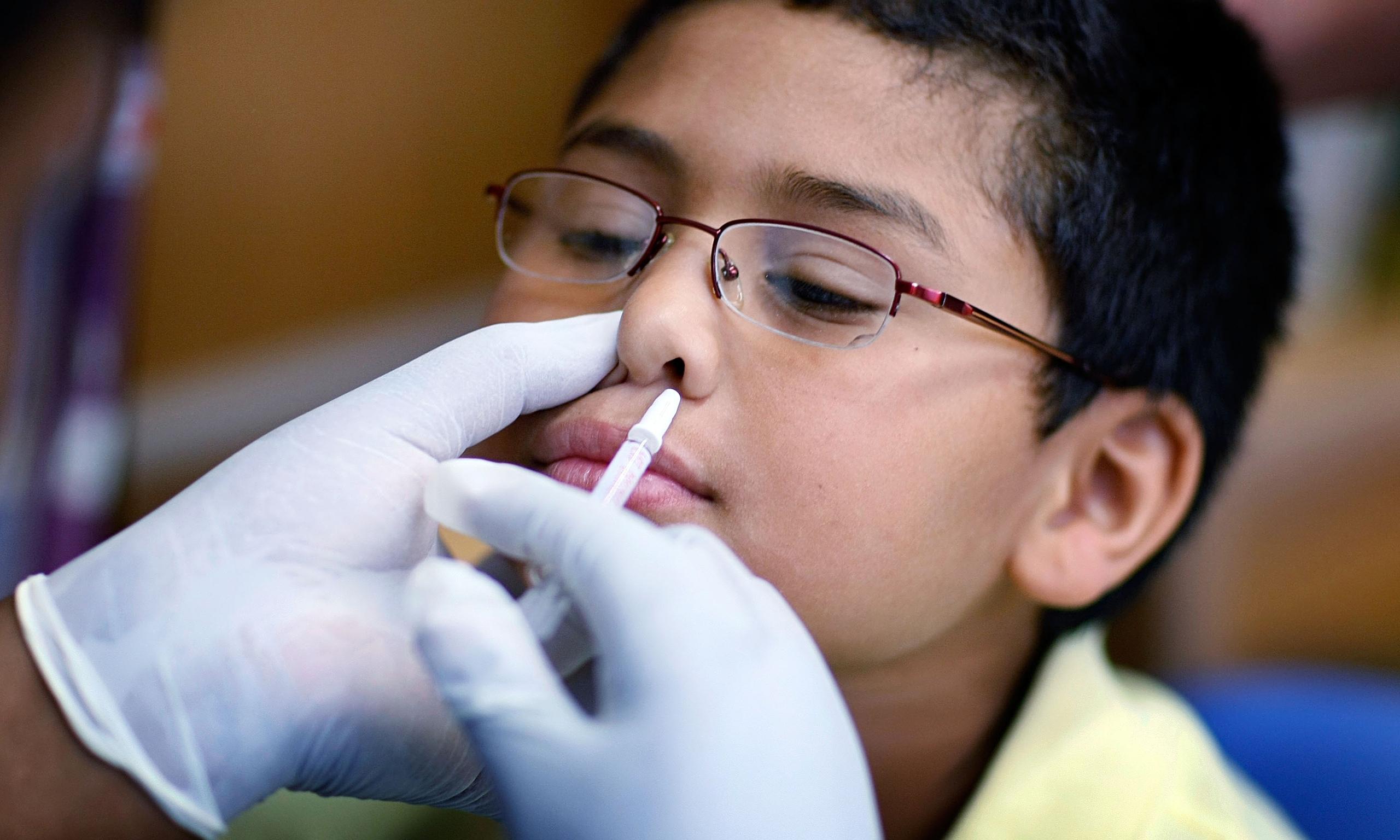 圖片:H1N1疫苗和流感疫苗對於預防疾病是無用的,CDC研究承認