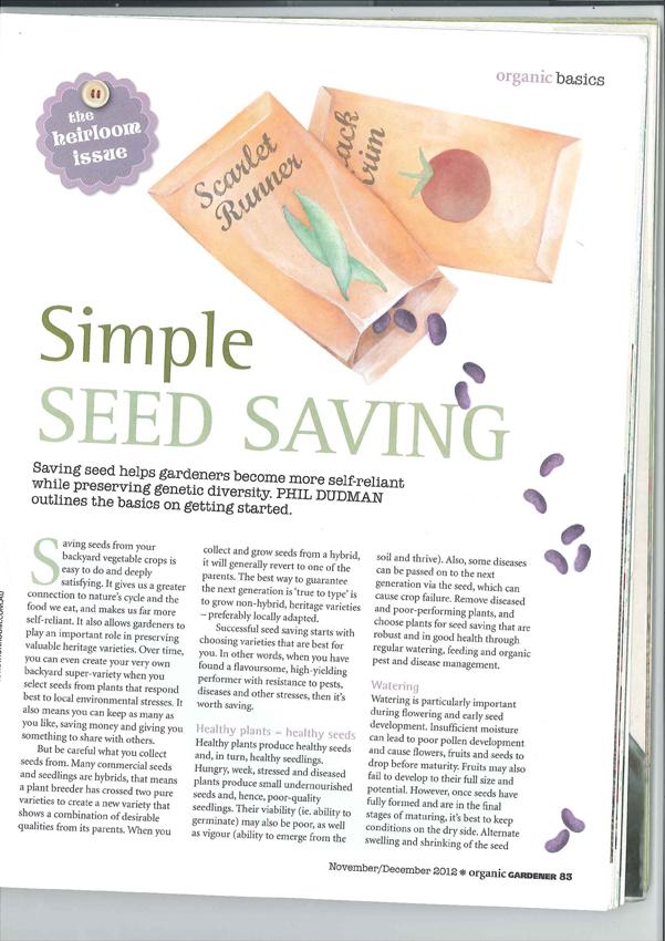seed saving from julia