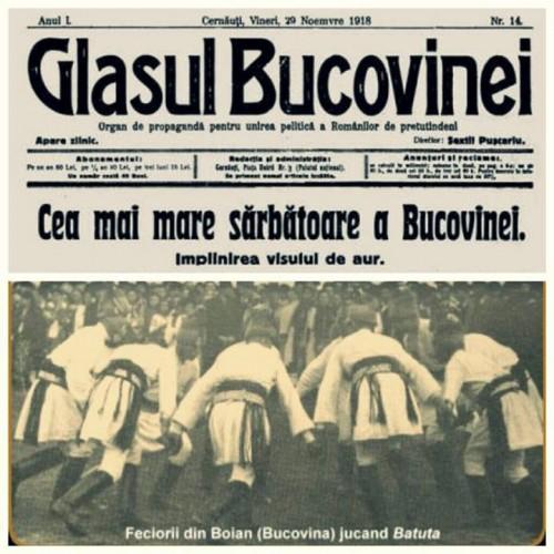 CENTENAR. Clopotele Moldovei au bătut pentru Unirea Bucovinei cu Regatul României
