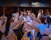 Spectacolul-eveniment Vlaicu Vodă – din satul medieval, pe micul ecran