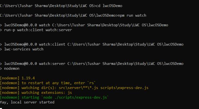 Lightning Web Components Open Source Demo app