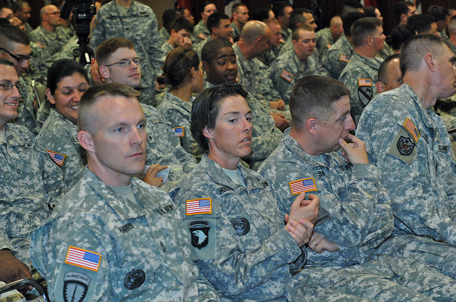 They could have good reason to smoke dope. Photo: USAG- Humphreys