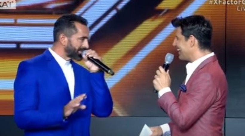 Βο: Στη σκηνή του X-Factor με κοστούμι