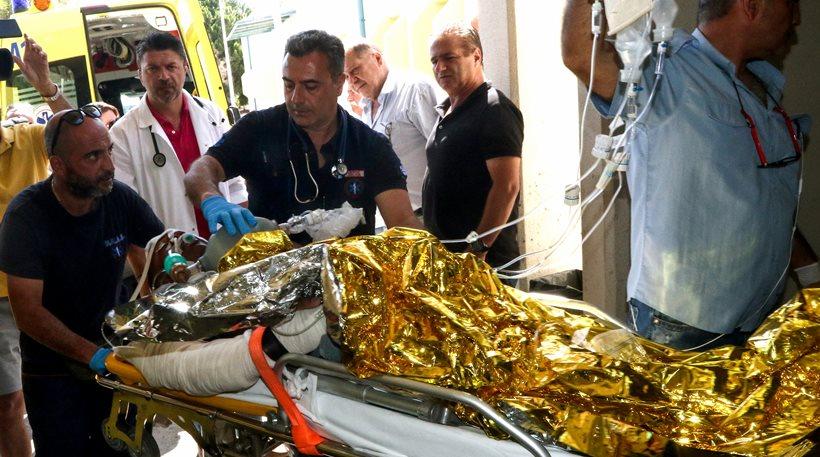 Δείτε βίντεο: Σε Θριάσιο – ΠΑΓΝΗ και Βενιζέλειο οι 7 τραυματίες του φονικού σεισμού