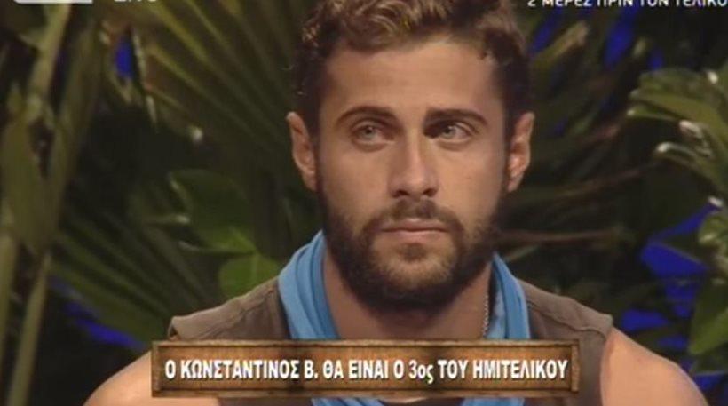 Survivor: Ο Βασάλος στον ημιτελικό, αποχαιρέτισε ήρεμα και ο Αναγνωστόπουλος