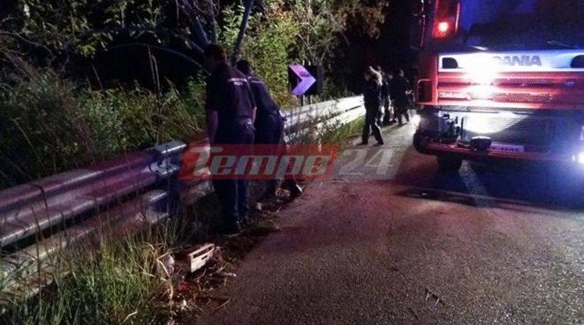 Νέο θανατηφόρο τροχαίο στην Πατρών-Πύργου: Δικυκλιστής ανασύρθηκε νεκρός από χαράδρα