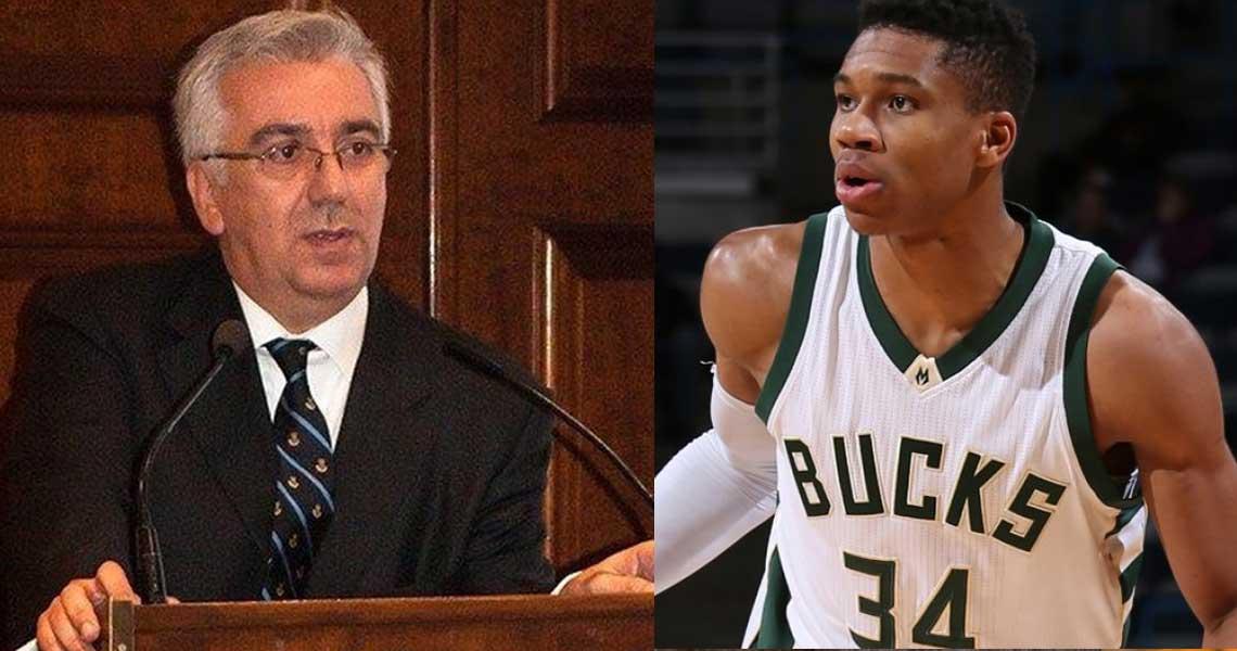 Καθηγητής πανεπιστημίου κατά Αντετοκούνμπο: «Μας ζάλισε ο μαύρος που το παίζει Έλληνας»