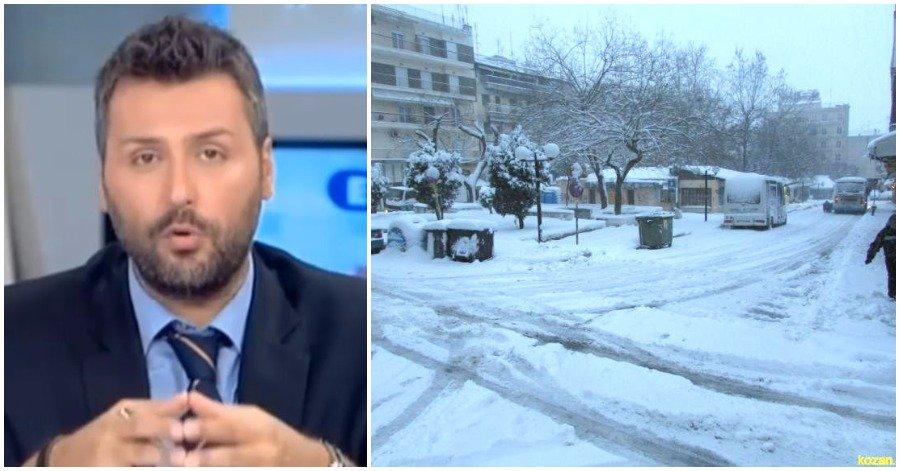 Έκτακτο: Ο Καλλιάνος Προειδοποιεί… Έρχεται Ιστορική Χιονοκακοκαιρία. Που θα Χιονίσει τις Επόμενες ώρες.