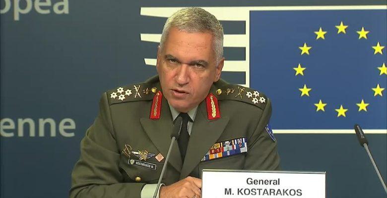Μήνυμα του Στρατηγού της Ε.Ε Μ. Κωσταράκου από τις Βρυξέλλες: Όσο υπάρχουμε αυτή η χώρα θα είναι ελεύθερη!