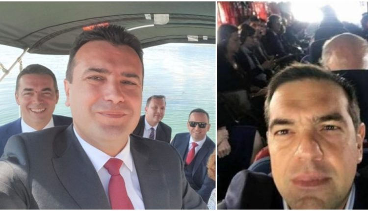 «Πανηγυρικές» Selfie Τσίπρα- Ζαέφ από τις Πρέσπες: «Θέλουμε και άλλες Μακεδονικές Επιτυχίες»