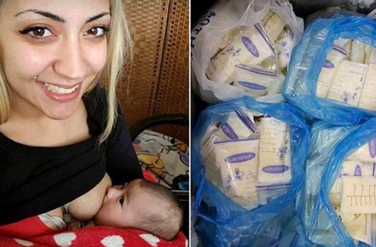 Κύπρια θησαυρίζει πουλώντας το μητρικό της γάλα της σε μποντιμπιλντεράδες και φετιχιστές!