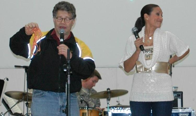 Radio host accuses Sen. Al Franken of groping her during USO tour 16