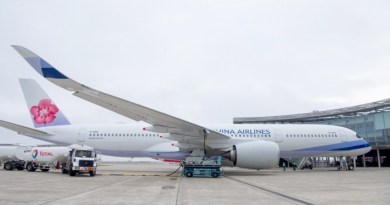 China Airlines takes delivery of A350 XWB powered with biofuel mix 2