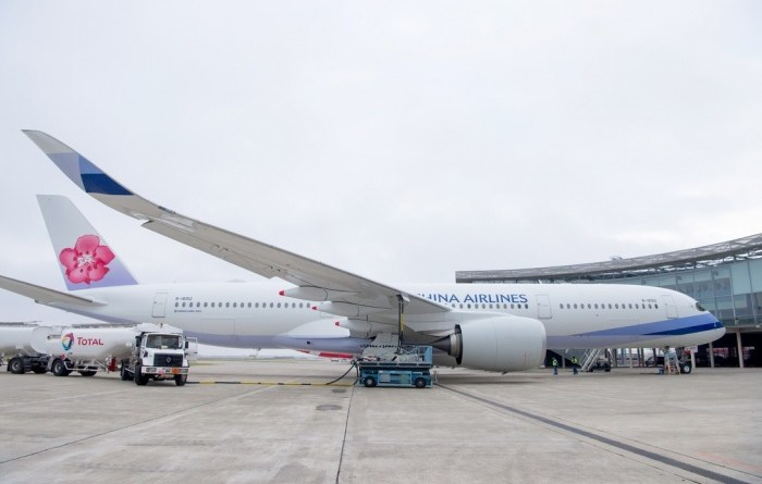 China Airlines takes delivery of A350 XWB powered with biofuel mix 6
