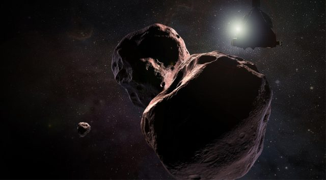 New Horizons Space Probe Target May Have Its Own Tiny Moonlet 9