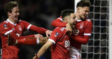 Holders Arsenal knocked out of FA Cup by Forest - highlights & report 3