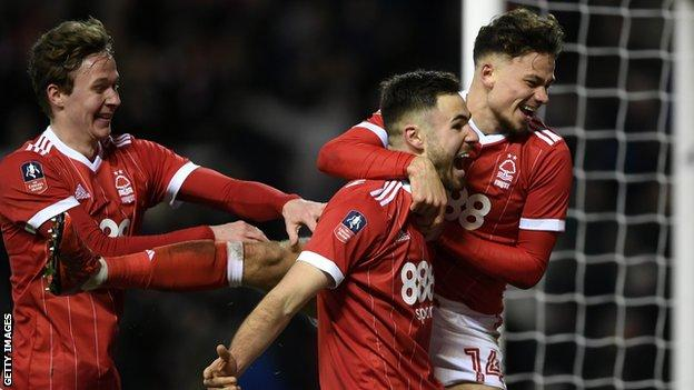 Holders Arsenal knocked out of FA Cup by Forest - highlights & report 1
