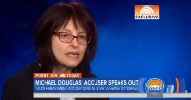 Michael Douglas accuser says friend advised her not to speak out 3