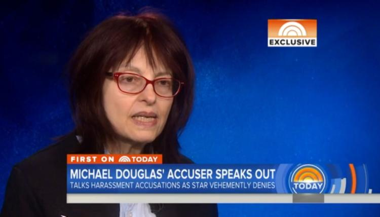Michael Douglas accuser says friend advised her not to speak out 8