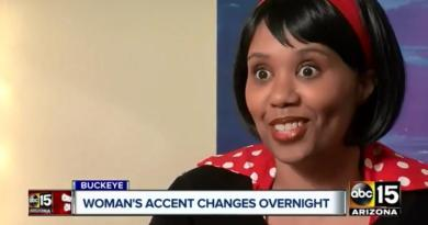 Arizona woman wakes up speaking with a British accent 2