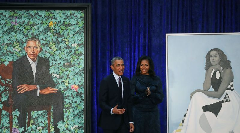 Here Are Barack and Michelle Obama's Official Smithsonian Portraits 8